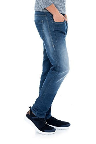 Salsa - Jeans Slim avec usures aux genoux - Lima - Homme