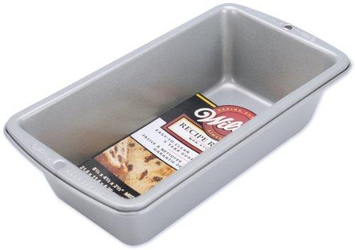 Wilton Recipe Right Medium Bread Loaf Baking Pan - 8 1/2 inch x 4 1/2 inch