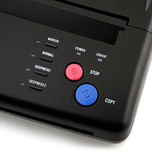 Copieur de transfert de tatouage Imprimante Kopierer Machine Pochoir thermique tattoo machine de transfert de chaleur copier printer machine