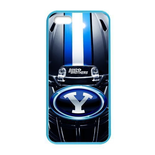 Caitin NCAA BYU Cougars Teams Hard Shell Cases Cover for Iphone 6 Plus(5.5