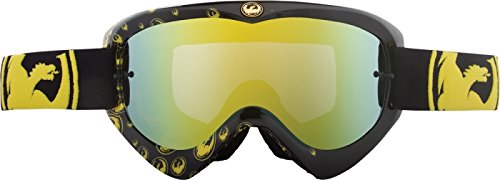 Dragon Alliance Gold Icon Adult MDX Motocross/Off-Road/Dirt Bike Motorcycle Goggles Eyewear - Gold Ionized / One Size Fits All