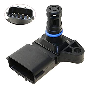 Amazon.com: Map Air Intake Manifold Boost Pressure Sensor ... on idle air sensor, map of passat engine, mat air sensor,
