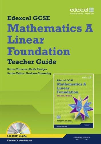 GCSE Mathematics Edexcel 2010: Spec A Foundation Teacher Book (GCSE Maths Edexcel 2010) PDF