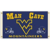 Bsi Products Collegiate West Virginia Man Cave 3' X 5' Flag