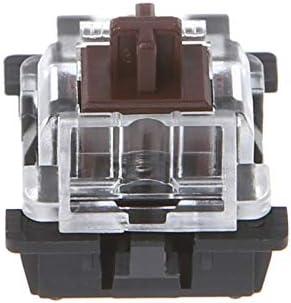 V2AMZ 10Pcs 3 Pin KeyCaps Brown Mechanical Keyboard Switch for Cherry MX Keyboard