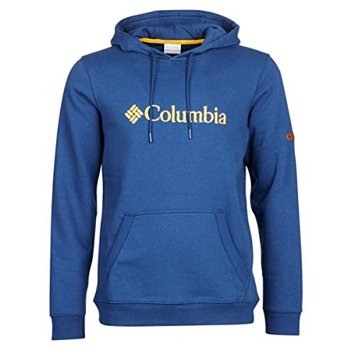 1681661 Hoodie Ii Csc Logo Azul carbon Con Columbia Basic Algodón Sudadera Hombre Capucha dfXqxS