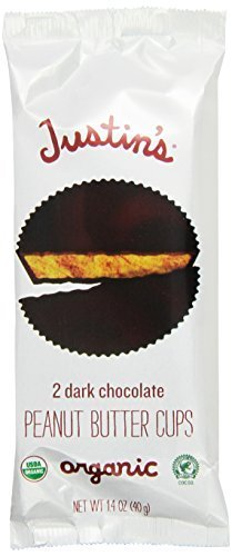 Justin's Dark Chocolate Peanut Butter Cups 1.4oz - 6 Pack