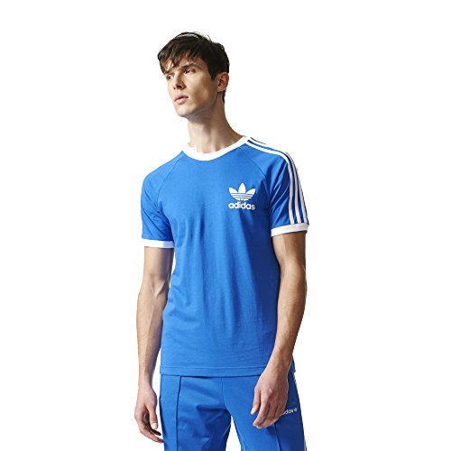adidas Originals Men's Tops California Tee, Blue, XX-Large