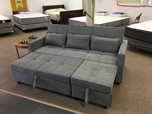 Amazon.com: Sleeper Sofa, All in ONE (Gray): Kitchen & Dining
