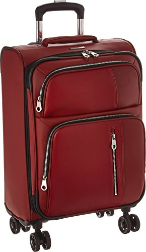 Calvin Klein Lenox Hill 20'' Expandable Spinner, Red by Calvin Klein