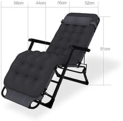 Amazon.com: WFFXLL Sun Lounger Reclining Folding Sofa Bed ...