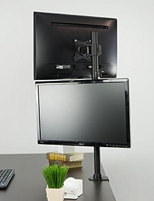 Vivo Dual Monitor del Ordenador para Pantalla Plana Soporte ...