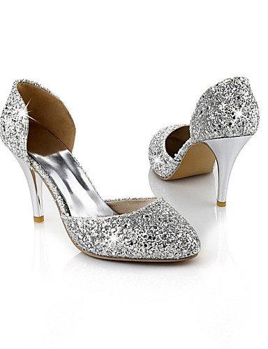 GGX/Damen-Schuhe Glitzer/Materialien die vier Jahreszeiten Heels/D Orsay & zweiteiliges/spitz Fuß heelswedding red-us6.5-7 / eu37 / uk4.5-5 / cn37