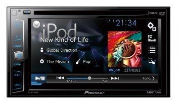 Pioneer AVH-X1750DVD Double DIN DVD/CD/USB AV Receiver with MIXTRAX 6.2 [並行輸入品] B079KKBLW1
