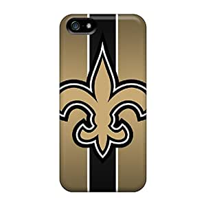 Durable Protector Case Cover With New Orleans Saints Hot Design For Iphone 5/5s