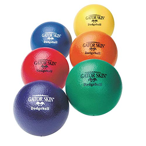 Rhino Skin 6 Inch Foam - S&S Worldwide Gator Skin Dodgeballs (Set of 6)
