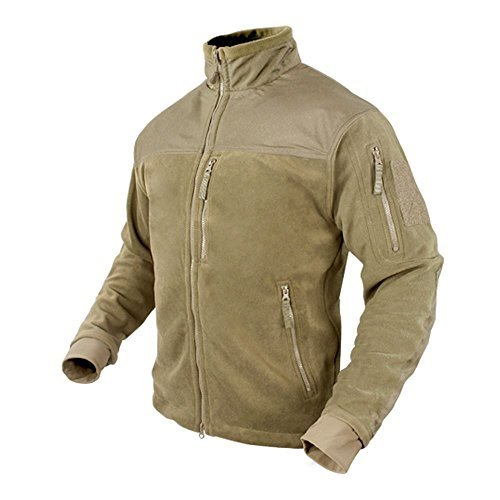 CONDOR Alpha Tactical Fleece Jacket (XXX-Large, Tan)