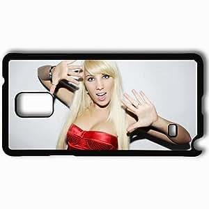 Personalized Samsung Note 4 Cell phone Case/Cover Skin Annemarie Eilfeld Girl Blonde Dress Light Black
