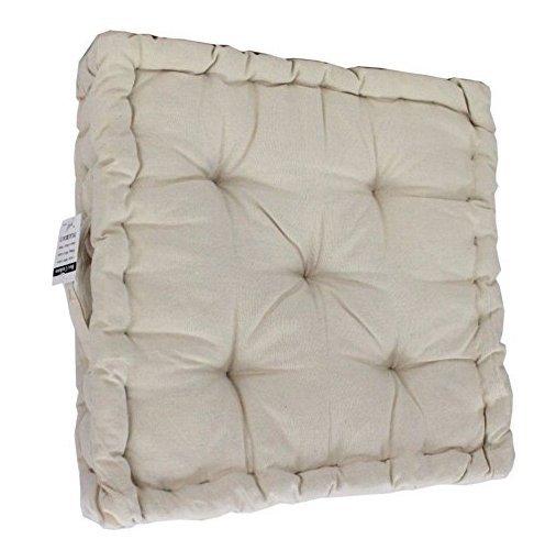 Comfy Nights Cojín para silla de jardín, 100% algodón, extra ...