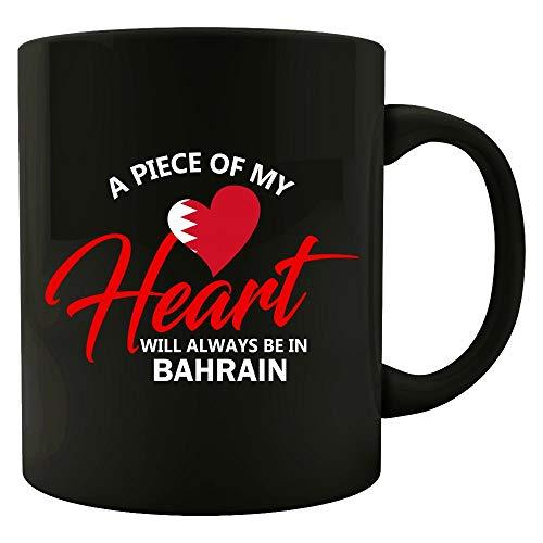 A Piece Of My Heart Will Always Be In Bahrain - - Mug Bahrain