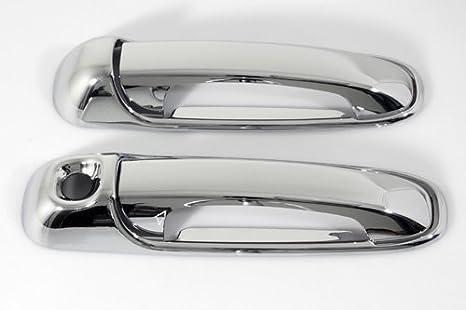 Chrome Outside Door Handle Pair Set of 2 for Ram 1500 2500 3500 Dakota Raider