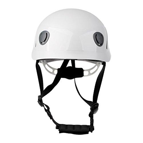 MonkeyJack High Strength ABS Helmet Hard Hat for Rock Climbing Caving Mountaineering Adult Size by MonkeyJack