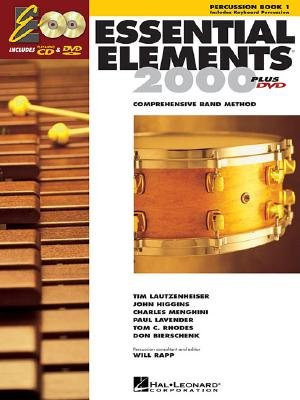 Essential Elements 2000 Percussion Book - Essential Elements 2000, Book 1 Plus DVD: Percussion   [ESSENTIAL ELEMENTS 2000 BK 1 P] [Hardcover]