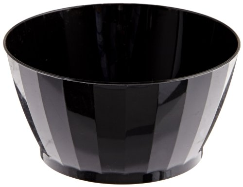 (Prestige Rigid Plastic Bowl, 6-Ounce, Black (240-Count) )