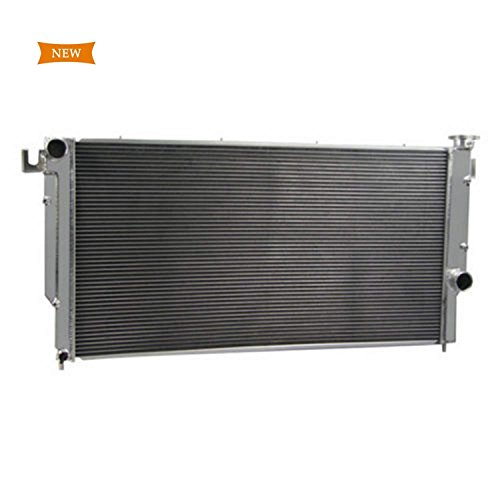 Primecooling 54MM 3 Row Core Aluminum Radiator for Dodge Ram 2500 3500, 5.9L Turbo Diesel &Quad Cab 1994-2002 (Diesel Quad Turbo)