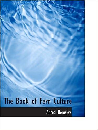 Ebook pour le marché des actions téléchargement gratuitThe Book of Fern Culture in French