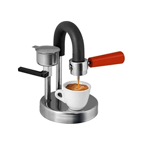 Kamira red version, the creamy espresso at home on your gas. THE PERFECT CHRISTMAS PRESENT! INSCRIPTION WITH ENGRAVING FOR FREE
