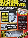 img - for Record Collector Magazine No.120 (August 1989) ELVIS, MADONNA, THE THE cover book / textbook / text book