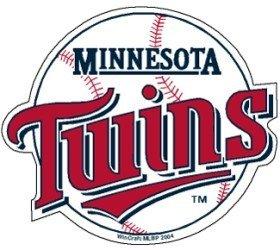 Mlb Precision Cut Magnet - MLB Minnesota Twins Precision Cut Magnet, Team Color, One Size