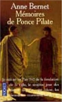 Mémoires de Ponce Pilate par Bernet