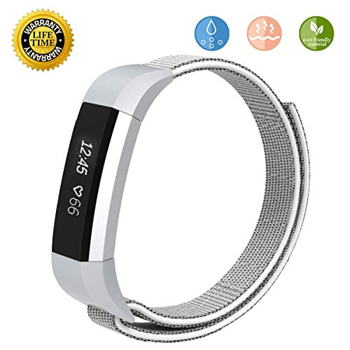 JOMOQ Replacement Bands Compitable for Fitbit Alta Ace Activity Tracker, Kids Women Men Soft Sport Breathable Waterproof Wristbands, Quick Release Wristband Accessories Boy Girl (5.0-7.0 inches