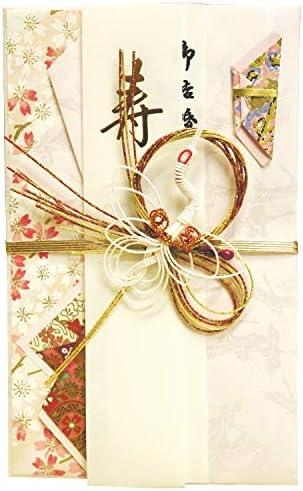 【祝儀袋】 伊予・熨斗工房きわみ 祝飾金封 桃鶴 No.2622