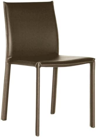 Baxton Studio Leather Dining Chair