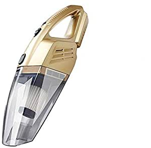 Strong Sucktion Handheld Vacumm Cleaner for Car & Office, Home, Gold