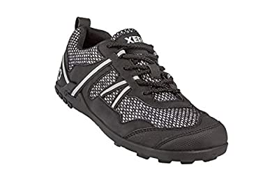 Xero Shoes TerraFlex Trail Running Hiking Shoe - Minimalist Zero-Drop Lightweight Barefoot-Inspired - Black - Men's