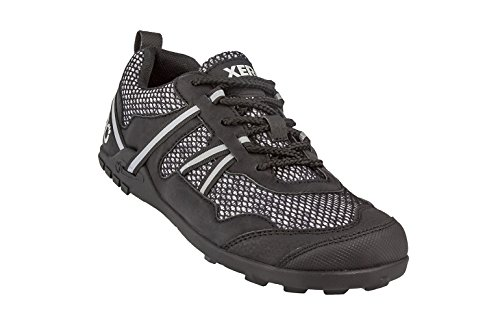 Xero Shoes TerraFlex Trail Running Hiking Shoe - Minimalist Zero-Drop Lightweight Barefoot-Inspired - Men, Black, 10 D(M) US