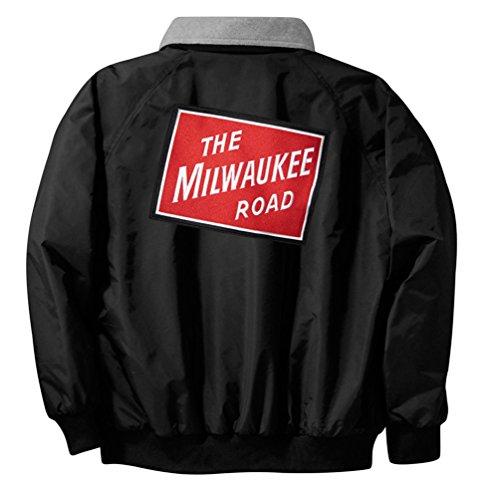 Milwaukee Road Railroad Embroidered Jacket Adult XL [08r] ()