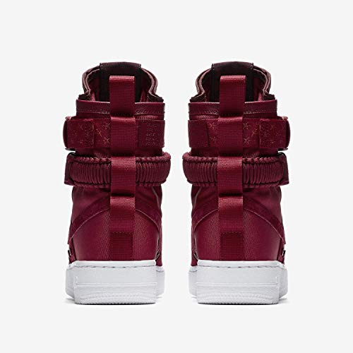 Crush Crush Chaussures W Burgundy SF Crush de NIKE Multicolore Red White 601 Red Af1 Basketball Femme zxpnw64