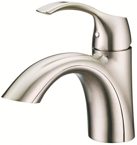 Danze D222522BN Antioch Single Handle Bathroom Faucet, Brushed Nickel