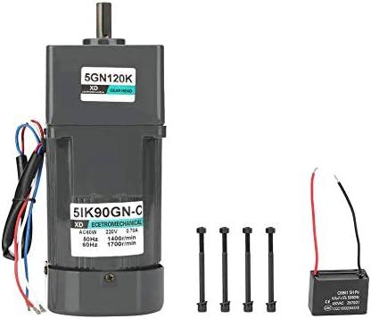 SSY-YU 減速機モーター、AC 220V 90W電気CW /機械自動包装食品機械用コンデンサとCCWモーターギア削減モーター(120K) 電動工具用