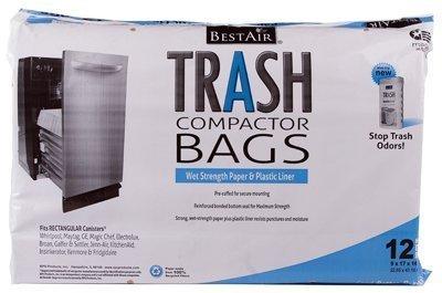 Trash Compctr Bags 12pk