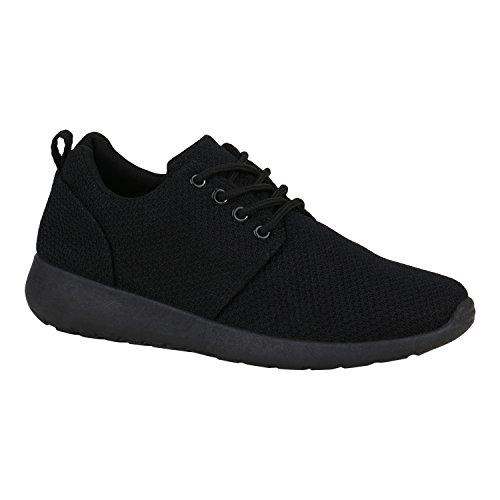 Bottes Paradis Unisexe Hommes Chaussures De Sport Course Sur Des Tailles Flandell Totalement Noir