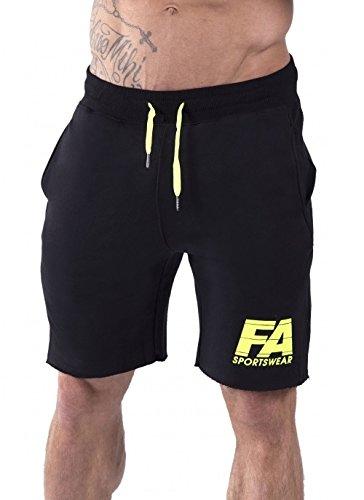 FA Sportswear Pantalones Cortos 01black Basic