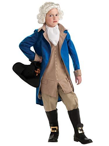 Rubie's Deluxe George Washington Children's Costume, Large