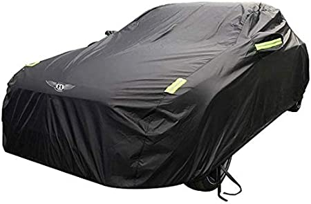 JXXDDQ Car Clothes Car Cover Bentley Continental GT Car Cover Thick Oxford Cloth Sun Protection Rain Cover Car Cloth Cover Single Layer Size : Lined With Velvet