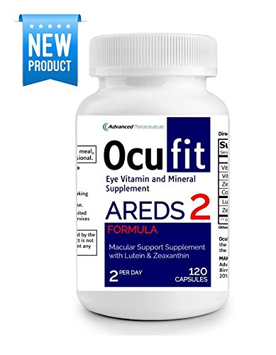 Ocufit AREDS 2 Formula Eye Vitamin & Mineral Supplement (120/CT) Free Shipping